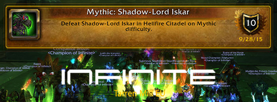 Shadow Lord Iskar Mythic