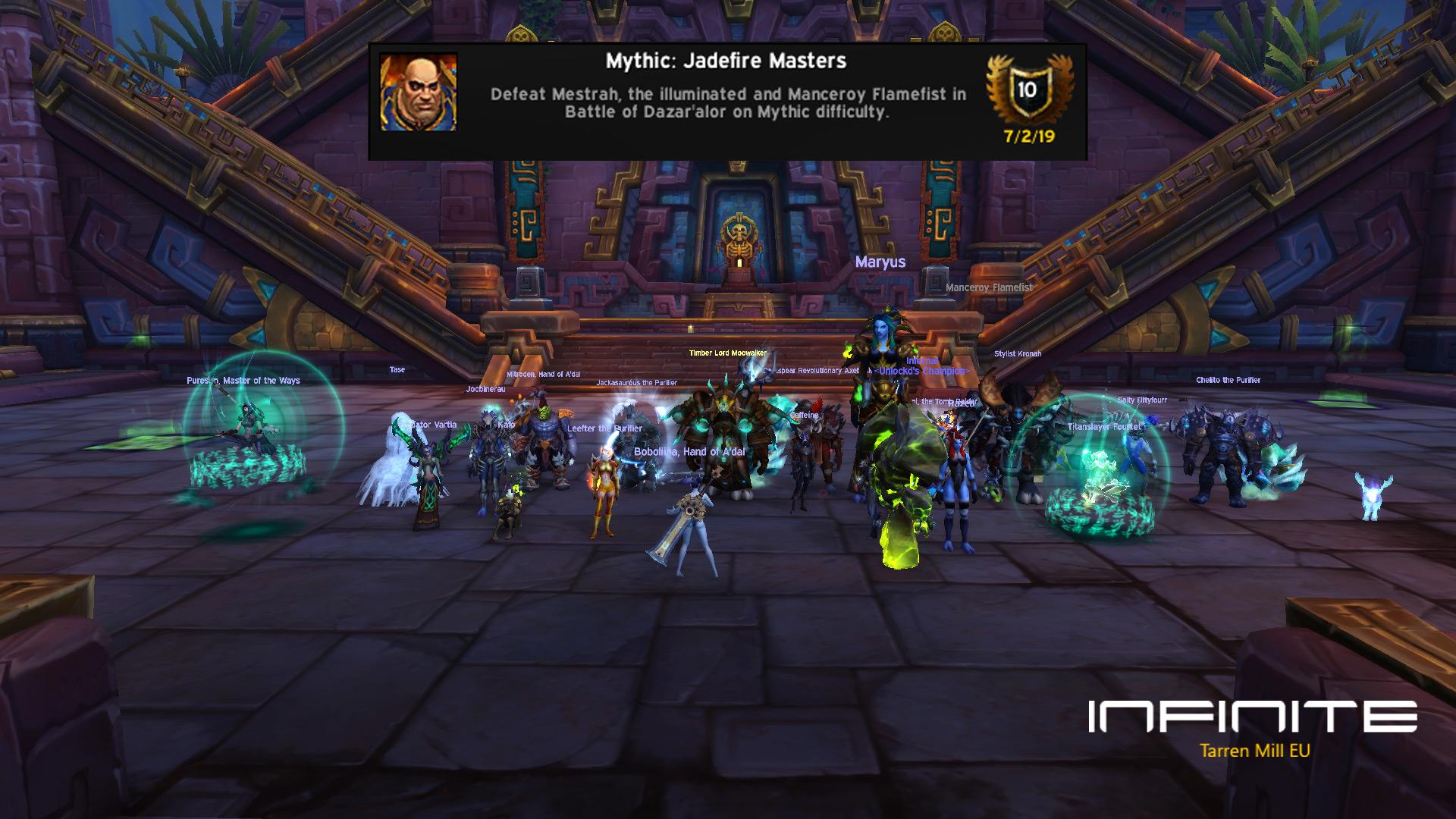 Infinite Guild @ TarrenMill - EU