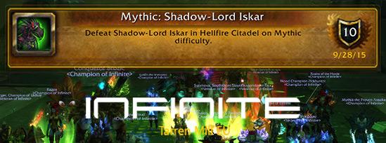 Shadow Lord Iskar Mythic