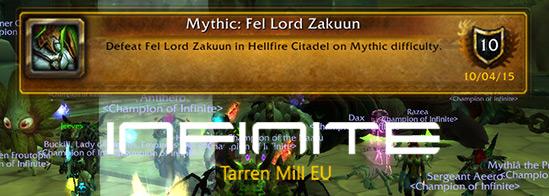 Fel Lord Zakuun Mythic